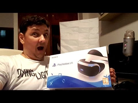 GLOG #45 - PLAYSTATION VR UNBOXING - SPLIT-SCREEN VR