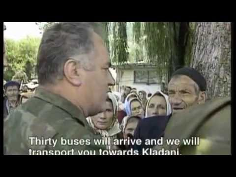mladic - Bosnian Serb Army - Army of Republica Srpska (VRS) was evacuated 25'000 civilians from Srebrenica. Agreement on the evacuation: http://www.srebrenica-facts.c...