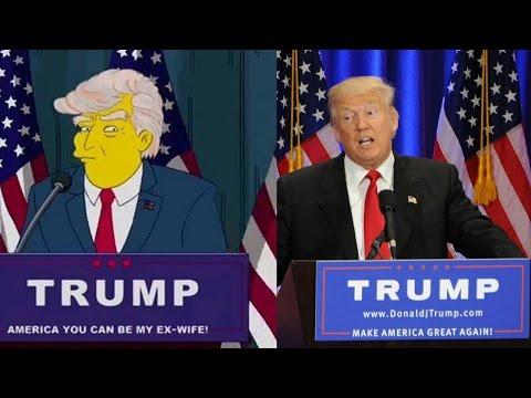 Simpsons Trump Vorhersage - Alle Hinweise & Fakten   MythenAkte