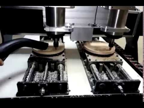 CNC CAT Double Head