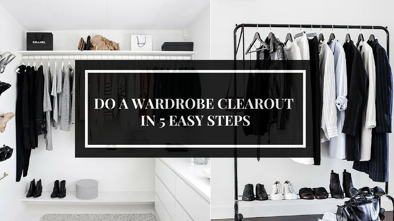 5 EASY STEPS TO THE ULTIMATE WARDROBE CLEAROUT | Ciara O' Doherty