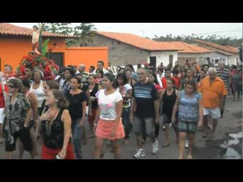 Procissão S. Sebastião Peri-Mirim/MA - Dia 20 janeiro 2013 (parte III de III)