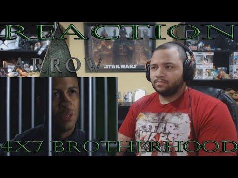 "Arrow - 4x7 - ""Brotherhood"" - REACTION!!"