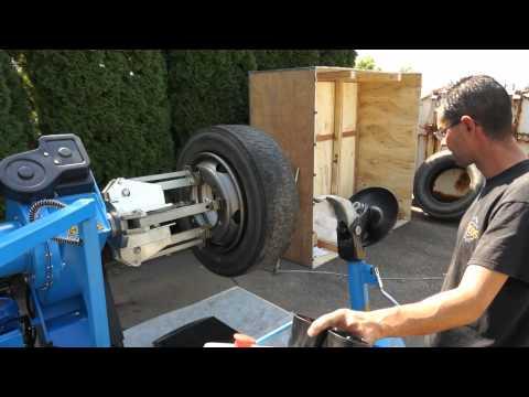 "Zouvačka pneumatik 14""-42"", automatická T698"