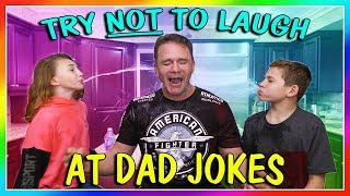 Video TRY NOT TO LAUGH AT DAD JOKES | We Are The Davises MP3, 3GP, MP4, WEBM, AVI, FLV Maret 2019