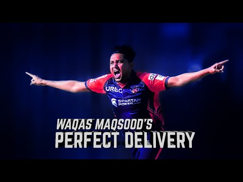Waqas Maqsood's 'PERFECT DELIVERY' Moment I Best moments of the Season I Abu Dhabi T10 I Season 4