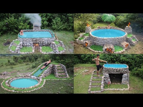 Best Build Swimming Pool With Primitive Technology - Thời lượng: 1 giờ, 5 phút.