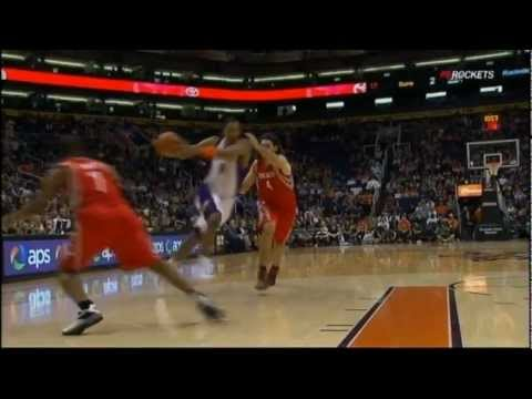 [2.9.12] Channing Frye - One Handed Poster Dunk on Samuel Dalembert
