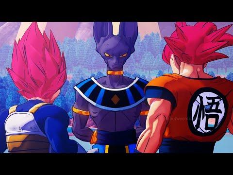 Dragon Ball Z: Kakarot - Gods Vs God! Super Saiyan God Goku & Vegeta Vs Beerus