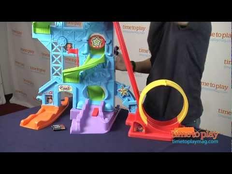 Little People Wheelies Loops n Swoops Amusement Park from Fisher-Price