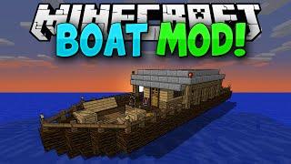 Video Minecraft Mods    MORE BOATS!!!    Pirate Ships!!!    Mod Showcase [1.7.10] MP3, 3GP, MP4, WEBM, AVI, FLV Juli 2018