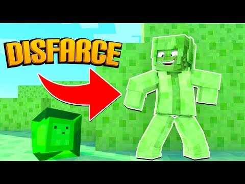 Minecraft: DISFARCE DE SLIME - (Esconde-Esconde)