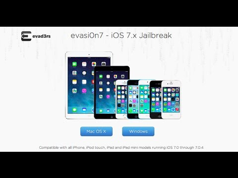 How to Jailbreak iOS 7 (Mac and PC) iPhone, iPad, iPod. Evasion Jailbreak