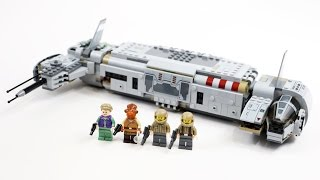 LEGO Star Wars Resistance Troop Transport (Timelapse & Review) - Set 75140