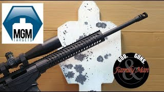 I have dedicated a number of recent videos to some pretty detailed and serious topics, namely working-up loads for the Ruger Precision Rifle in .308 Winchester.  This video strays from that series and let's us have a bit of fun slapping some MGM steel with the RPR!Here is a link to MGM steel and the target used in this videohttps://mgmtargets.com/auto-poppers-sup-reg-sup/ipsc-silhouette-auto-reset-target