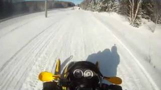 4. 2004 ski doo mxz 500ss hard trail riding and lake riding
