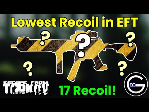 The Lowest Recoil Gun in Tarkov: Modded MPX No Recoil Build!