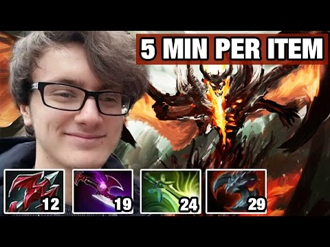 Miracle- [Shadow Fiend] Try To Rise Up MRR Dota2 7.02