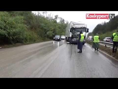 ТИР затапи трафика на Е79