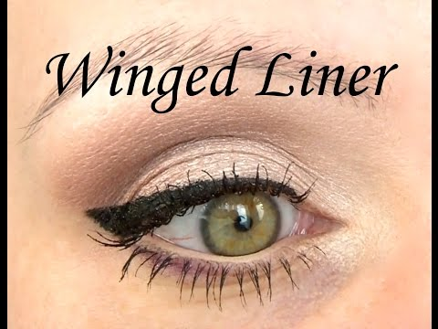 Perfect Winged Eyeliner Tutorial – Step by Step Cat Eye Liner