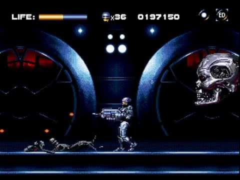 the terminator megadrive longplay