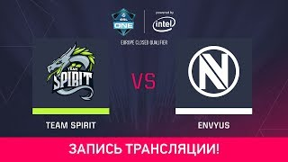 Spirit vs EnVyUs, game 1