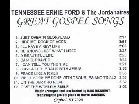 Video TENNESSEE ERNIE FORD & The Jordanaires:  GREAT GOSPEL SONGS download in MP3, 3GP, MP4, WEBM, AVI, FLV January 2017
