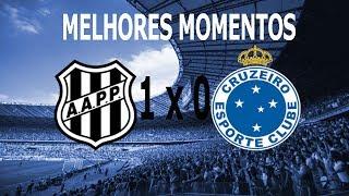 Melhores Momentos de Ponte Preta x Cruzeiro em Campinas. Cruzeiro foi com um time meio estranho e com o técnico Mano Menezes expulso, o jogo ficou Ponte Preta 1 x 0 Cruzeiro gol de Lucca em Pênalti duvidoso.