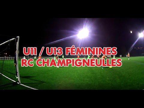 Mannequin Challenge 2016 U11/U13 Féminines Rc Champigneulles