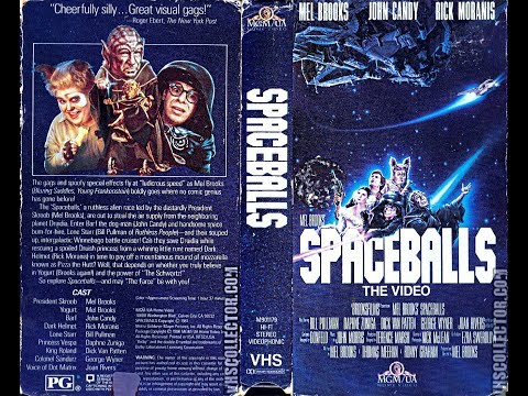 Opening To Spaceballs - The Video 1988 VHS