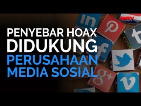 Penyebar Hoax Didukung Perusahaan Media Sosial