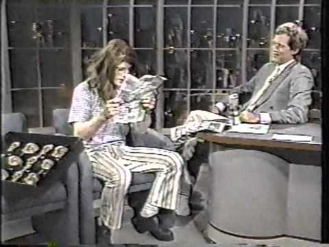Collection - Crispin Glover on Letterman