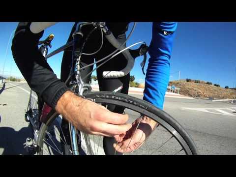 En bici por Madrid - A normal training day