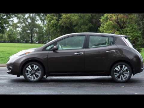 2017 Nissan LEAF - Heater and Air Conditioner with Navigation (if so equipped)