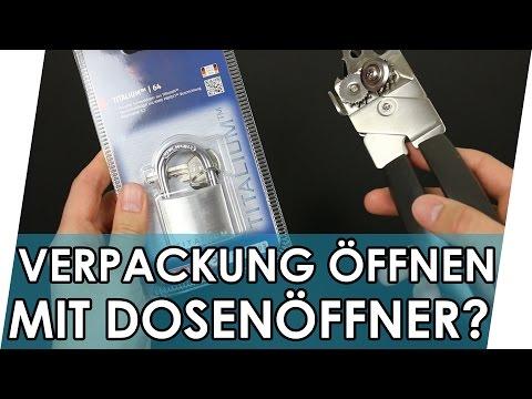 LIFE HACK im Test: Verpackung öffnen mit Dosenöffner? | Geniale Fakten, Tipps & Tricks