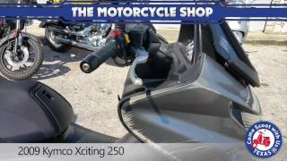 4. 2009 Kymco Xciting 250