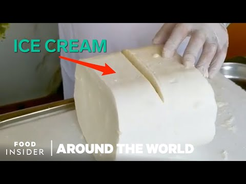 What Ice Cream Looks Like In 7 Countries Around The World