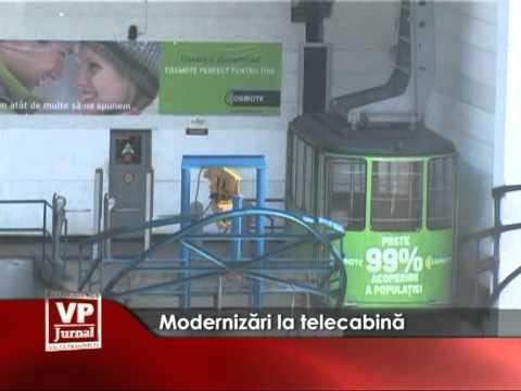 Modernizări la telecabină