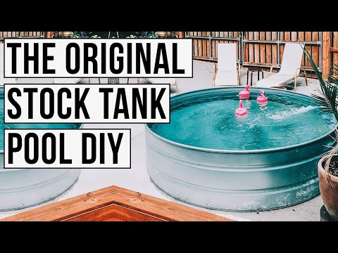 DIY Stock Tank Pool: Everything You Need To Know