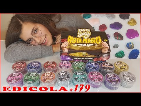 PASTA SQUISHY Pasta Magica Cristal Gems (Edicola by Giulia Guerra) (видео)