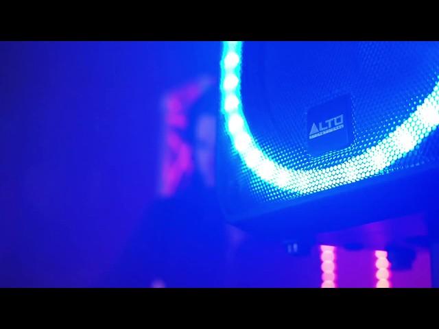 Alto Professional's TSL115 ACTIVE LOUDSPEAKER WITH CIRCULAR LED ARRAY