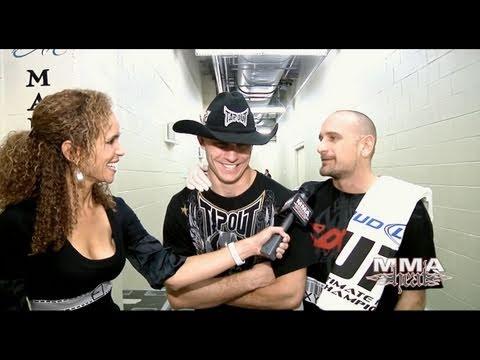 UFC 126 Fight Of The Night Winner Donald Cerrone PostFight Interview
