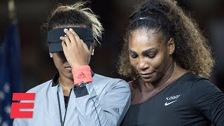 [FULL] 2018 US Open trophy ceremony with Serena Williams and Naomi Osaka | ESPN