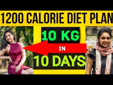 Diet Plan To Lose Weight Fast : LOSE 10KG IN 10 DAYS