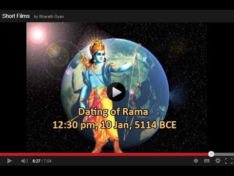 Dating of Rama - 12:30 pm, 10 Jan, 5114 BCE