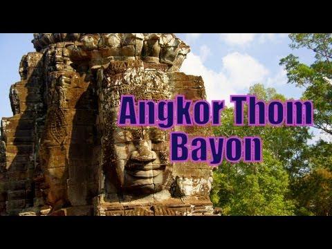 Angkor Thom (Bayon & Terrace of the Elephants) at Angkor, Cambodia
