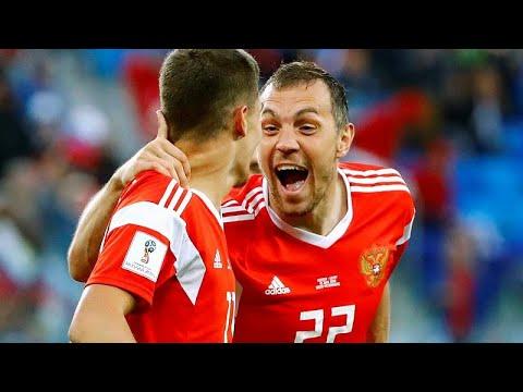 Fußball-WM: Zweiter Sieg für Russland mit 3:1 über Äg ...