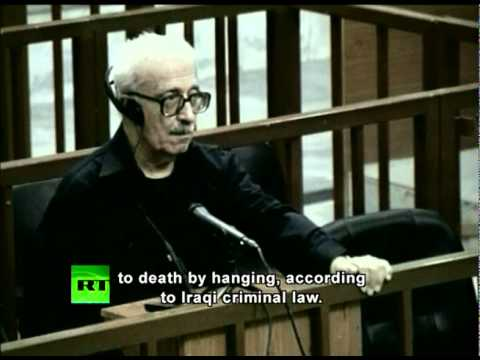 Tariq Aziz sentenced to death by hanging
