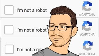 """Have you ever been on the Internet when you came across a checkbox that says """"I'm not a robot?"""" In this video, I explain how those checkboxes (No CAPTCHA ..."""