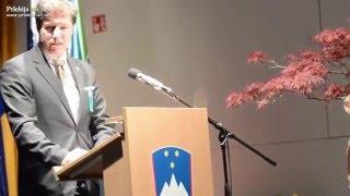 Miroslav Petrovič in Franc Breznik ob 22. občinskem prazniku Občine Sveti Jurij ob Ščavnici